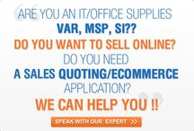 E-commerce Software / The leading provider of Sales quoting and E-Commerce solutions for IT & office supplies VARS & solution providers.