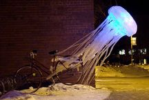 Jellyfish: sculpture, puppets, animation / by Lynn Tomlinson
