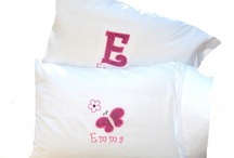 personalized pillow cases / by Kathy Klimczak