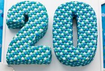 Number Twenty Cake Designs