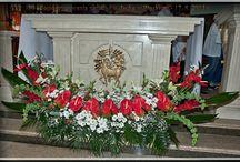 dekoracje w kościele