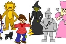 Wizard of Oz Early Learning Printables / While some may think that the Wizard of Oz reflects early 1900's America, to the average, innocent child, its a fun and whimsical tale. Use these literal activities to find your metaphorical heart! FInd them and more at www.makinglearningfun.com.  / by Jo Kramer
