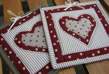 Srdíčka patchwork