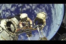 Russian Astronauts in space