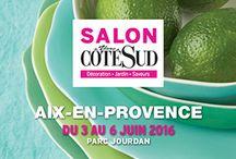 """Le salon Vivre Côté Sud à Aix en Provence / L'édition 2016 aura pour thème """"Inspiration nature"""""""