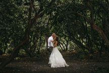 Wedding Pictures around the garden