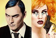 Maquiagem Pop Art
