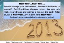 Breaktime Massage Promotions / Promotional materials and flyers