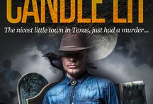 Ann Everett's Romantic Mystery, Laid Out and Candle Lit / Fantasy cast, settings, quotes from Book One in the Tizzy/Ridge Trilogy