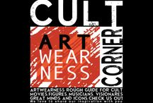 Cult Corner / Artwearness Cult Corner. Sources of insprations trough out time. Cult artist, movies, songs, art and so on, used in promotional material of Artwearness for your benefit. Broaden your mind and expand your horizon with us.
