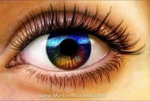 Eye paintings