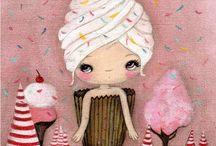 Cupcakes artístico