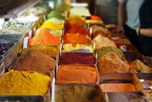 Spices / The beautiful spices used in Nepalese food and feature in many dishes at Nirankar Restaurant