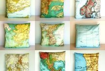 Maps / Maps are beautiful. Why not use them in everything? Let's get creative. / by Sedona Macklin