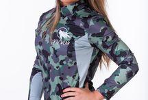 Cesca model for wolfwear Athletics