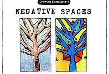 Negative spaces