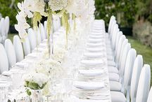 White And Silver Pure Wedding