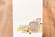 Stampin' Up! - Acorny Thank You