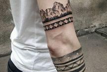 man tatto