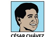 César Chávez Theme / Free leveled reading eBooks about César Chávez.  Each eBook comes with a vocabulary set, flash cards, running record, video, comprehension exercise and worksheet.