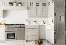 Kitchen __ Over mantles