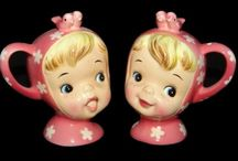 salt and pepper shakers / by arlene lane vintage