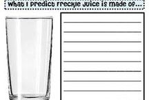 Novel Study Freckle Juice