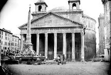 The Pantheon / The best preserved and most studied of all the Roman monuments.