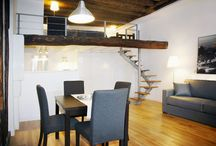 Eve Paris Modern Comfort Apartment in a Great Setting / Facing a quiet lane, this apartment is situated on a delightful tree lined square called Place du Marche Sainte-Catherne. There are lovely intimate cafes and shops all around the neighborhood.