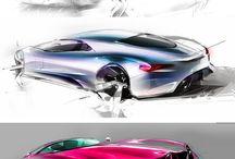 Concept Cars Sketch