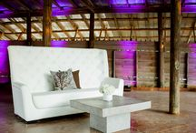 Lounge Furniture / Lounge furniture to rent for your event.