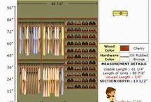Closet Redo - Crafts by CAS
