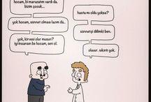 Tıbbi Mizah - Doktor Hasta Karikatürleri