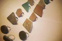 jewelleries from concrete / jewellery, concgrete, concrete jewellery, fashion, fashion jewellery, minimalist