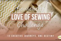 Baby Lock Love of Sewing Sewlebrity Challenge / Nancy Zieman is a contributing project designer on this year's Baby Lock Love of Sewing Sewlebrity Challenge. Follow along for 12 weeks as new projects are introduced. #babylocklosc17