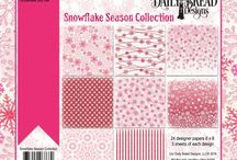 ODBD Snowflake Season Paper Collection