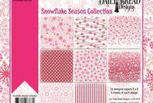 ODBD Snowflake Season Paper Collection