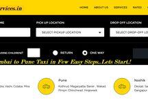 Mumbai Pune Taxi Services Fare