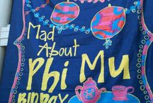 Phi Mu / All things φM / by DeDe Gillespie