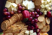 simple cheese and biscuits