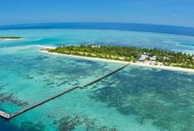 Fun Island Resort & Spa / Located on South Male' Atoll, just 37Kms from Ibrahim Nasir International Airport, approximately 45 minutes by speed boat. The island is 700m long and 168m wide.
