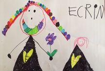 Ecrin Elif'in Mantar Panosu