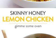 chicken + honey + lemon ♡