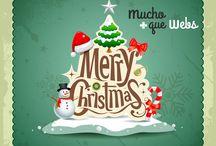 Felicitación navideña / Felicitaciones navideñas