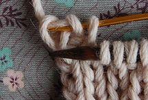 Bind off in knitting