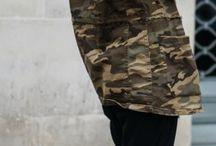 Camo jacket looks