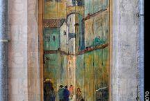 Ζωγραφική σε πόρτες