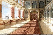 Taivas / Suuntaa antavia kuvia Nimrith -roolipelin maailmasta. Tässä taulussa Taivaasta. Nimrith roolipeli: http://nimrith.neocities.org/