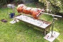 Grilling av gris