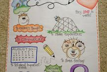 anchor charts for K / by Sarah Goselin